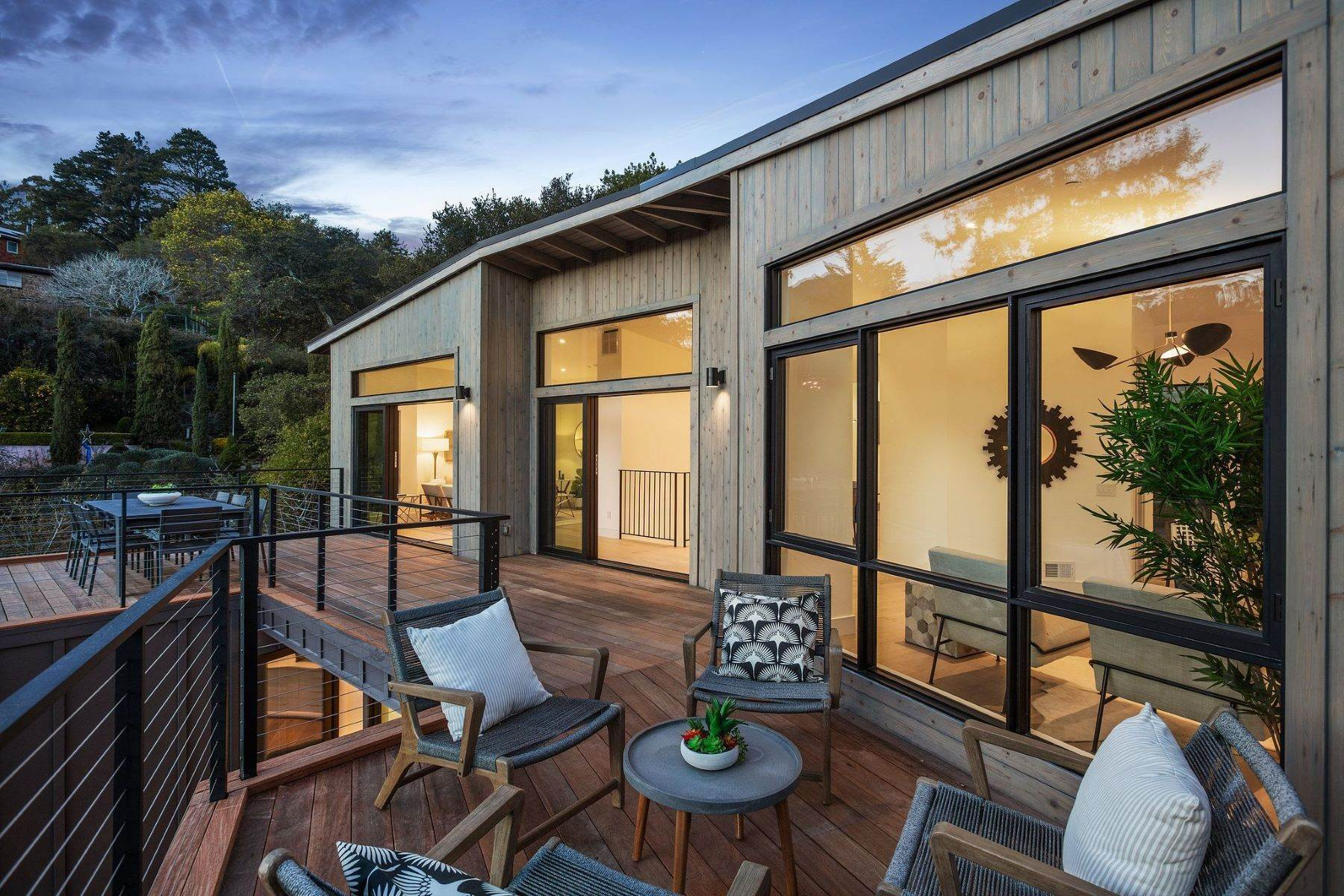 23. Single Family Homes for Sale at Modern New Construction in Mill Valley 315 Tamalpais Avenue Mill Valley, California 94941 United States