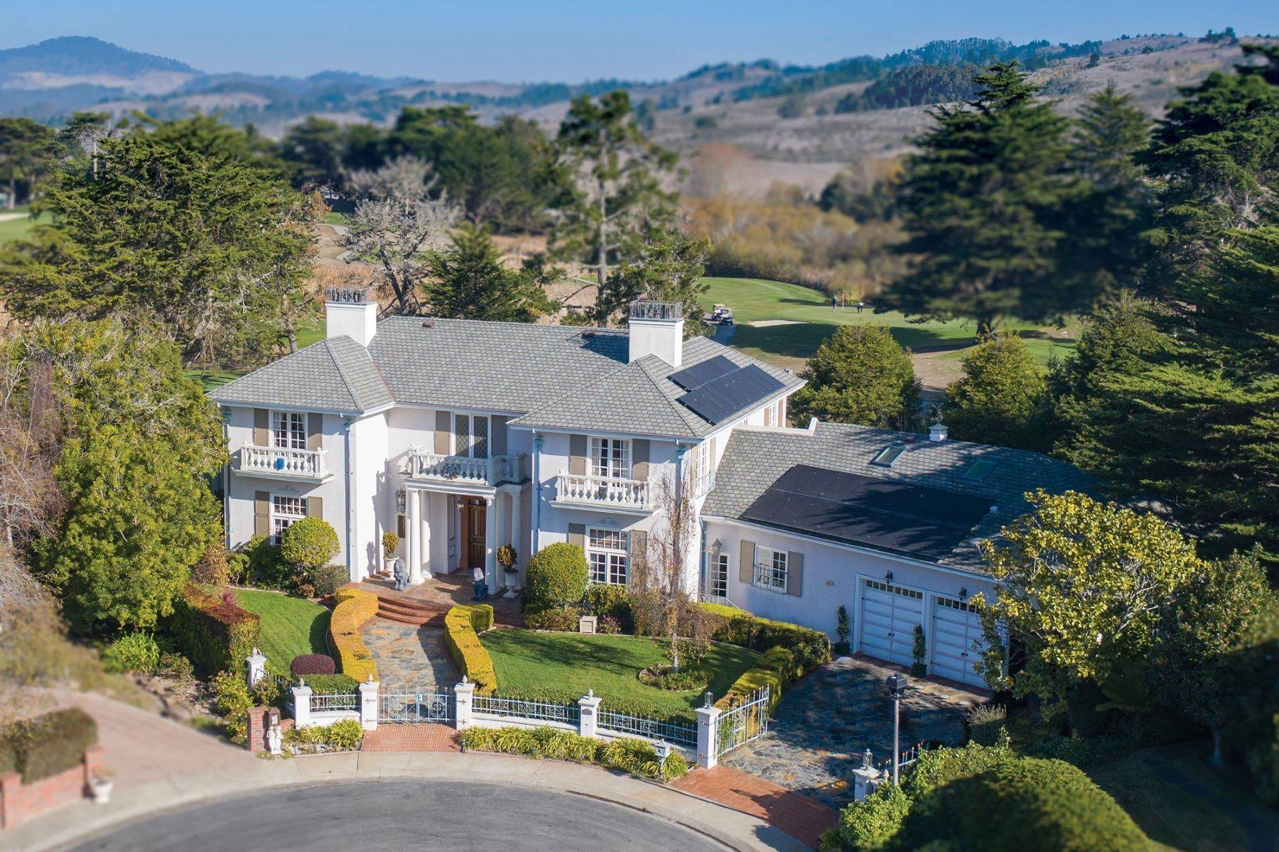 Single Family Homes for Sale at Grand Estate Half Moon Bay 2171 Bayhill Court Half Moon Bay, California 94019 United States