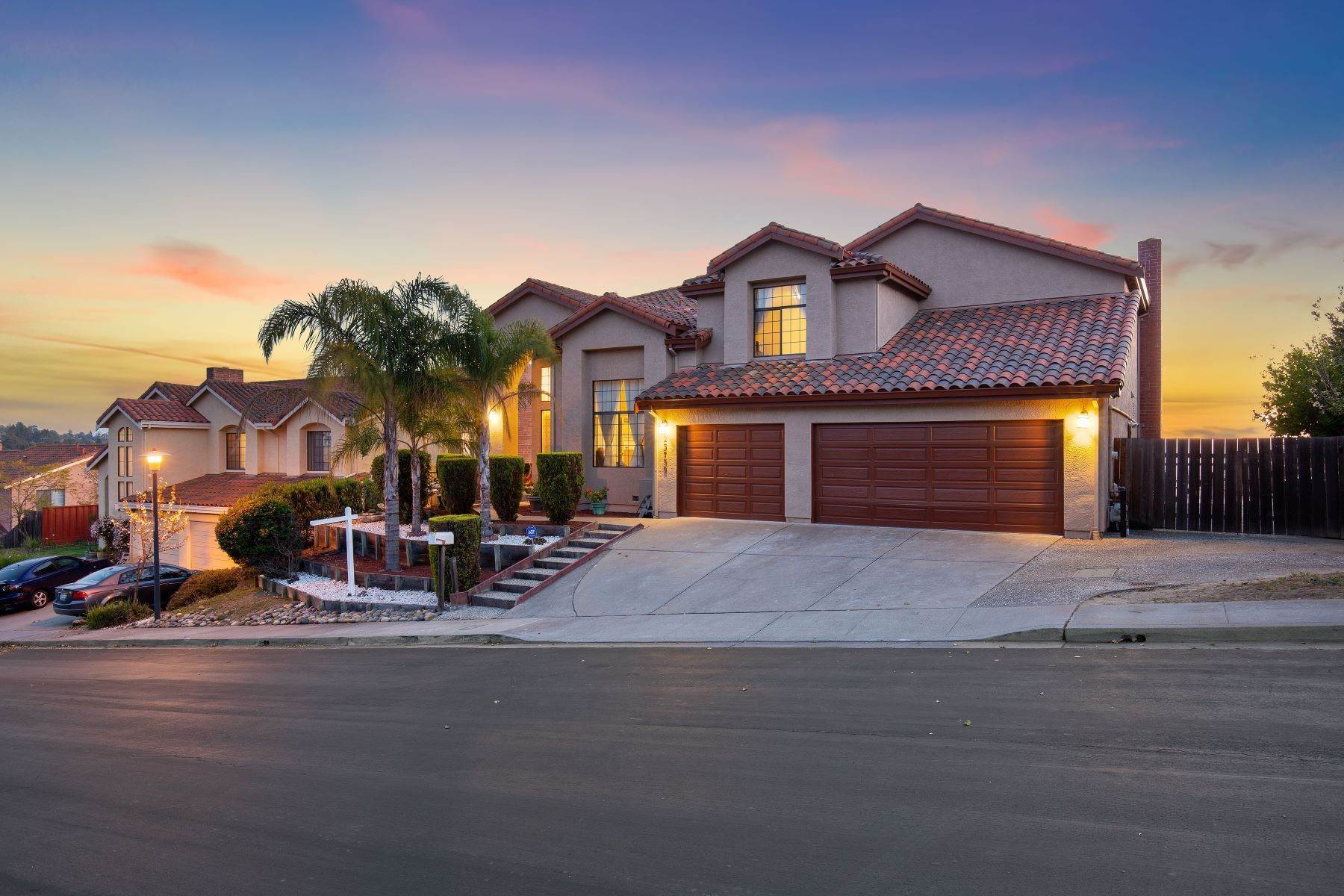 Single Family Homes for Sale at Welcome to Your Dream Home 23739 Carlson Court Hayward, California 94541 United States