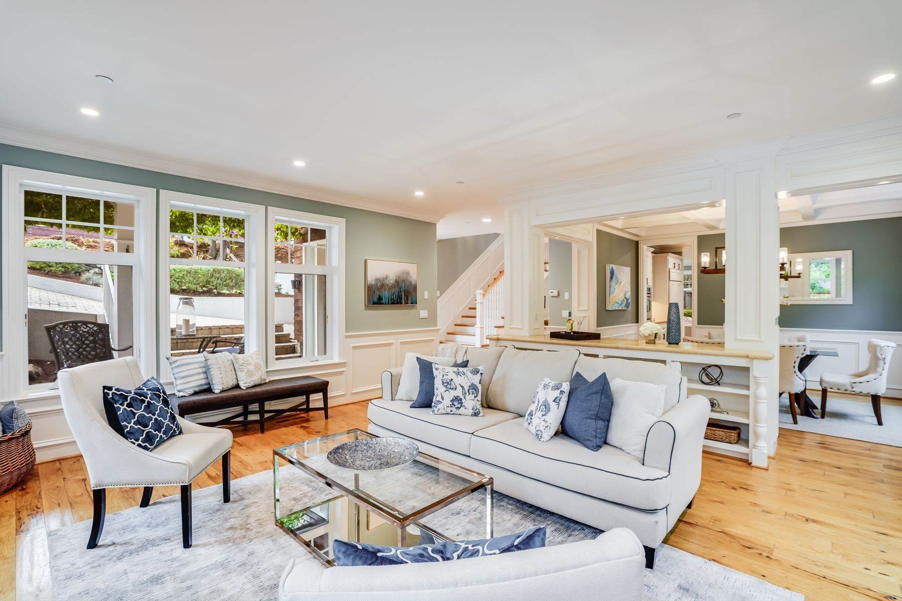 10. Single Family Homes for Sale at Exquisite Home in Excellent San Carlos Location 38 Pine Avenue San Carlos, California 94070 United States