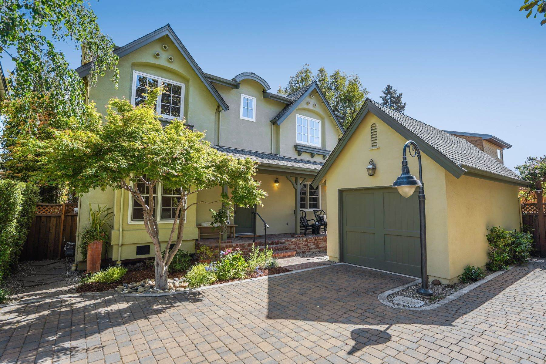 Single Family Homes for Sale at Menlo Park Downtown Living 1246 Hoover Street Menlo Park, California 94025 United States