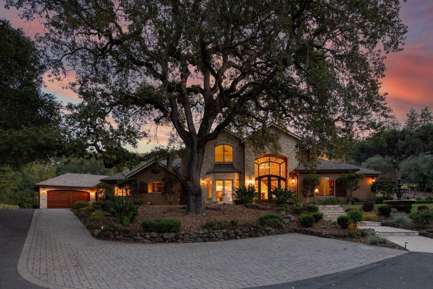 Single Family Homes for Sale at Traditional Masterpiece with European Flair 23923 Jabil Lane Los Altos Hills, California 94024 United States