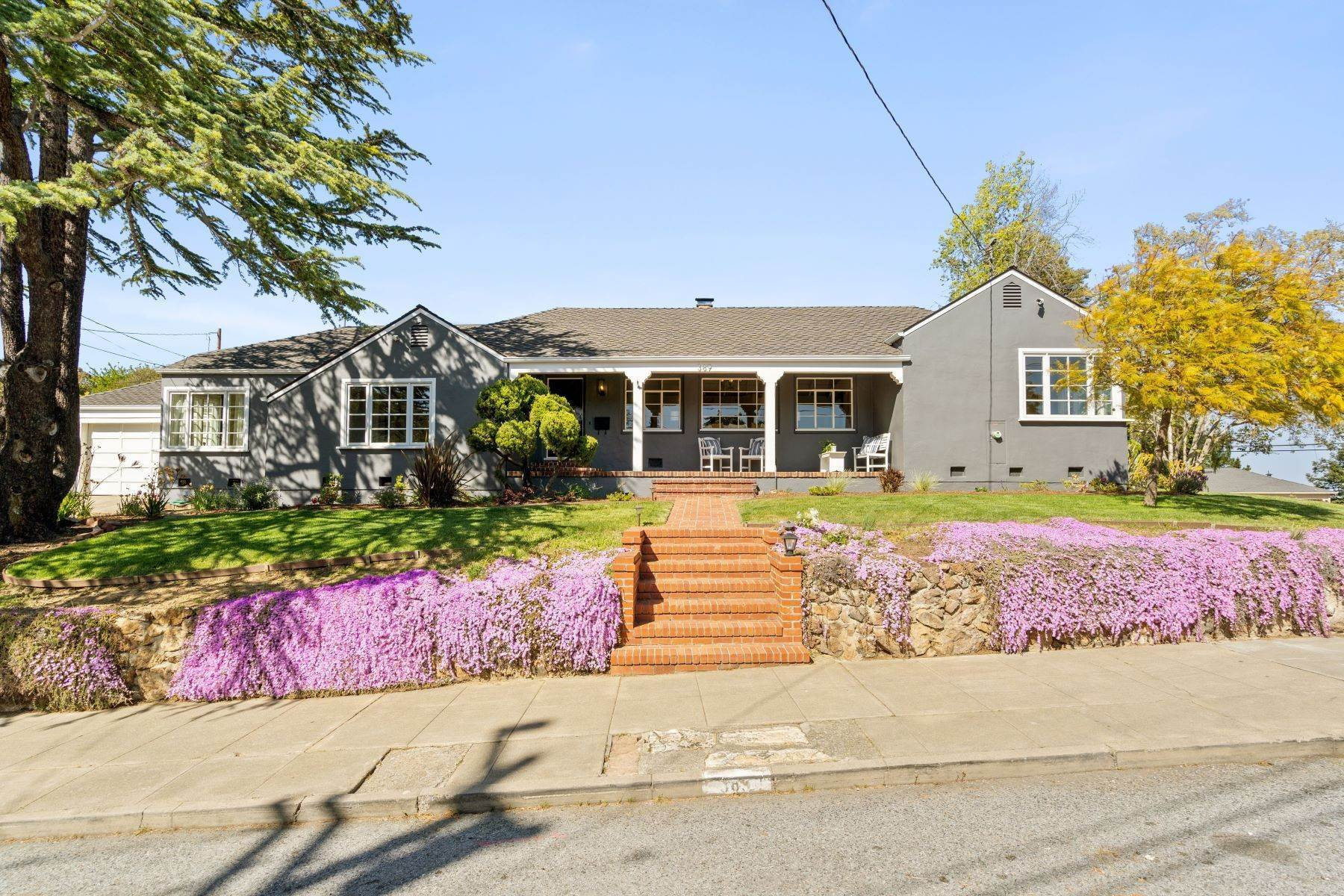 Single Family Homes for Sale at Magnificent San Carlos Home 389 Glenwood Street San Carlos, California 94070 United States