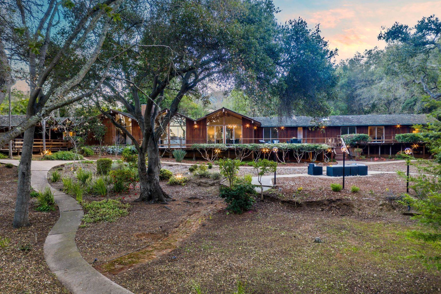 Single Family Homes for Sale at Mid-Century Modern Beauty in Saratoga 14582 Horseshoe Court Saratoga, California 95070 United States