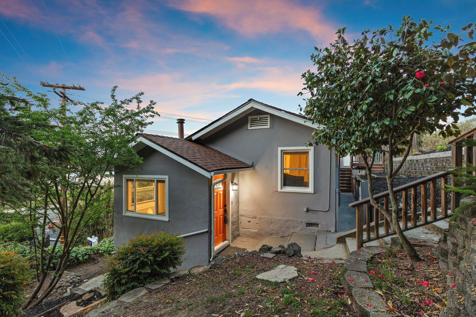Single Family Homes for Sale at Hidden Gem in Crockett with Spectacular Views 291 Virginia Street Crockett, California 94525 United States