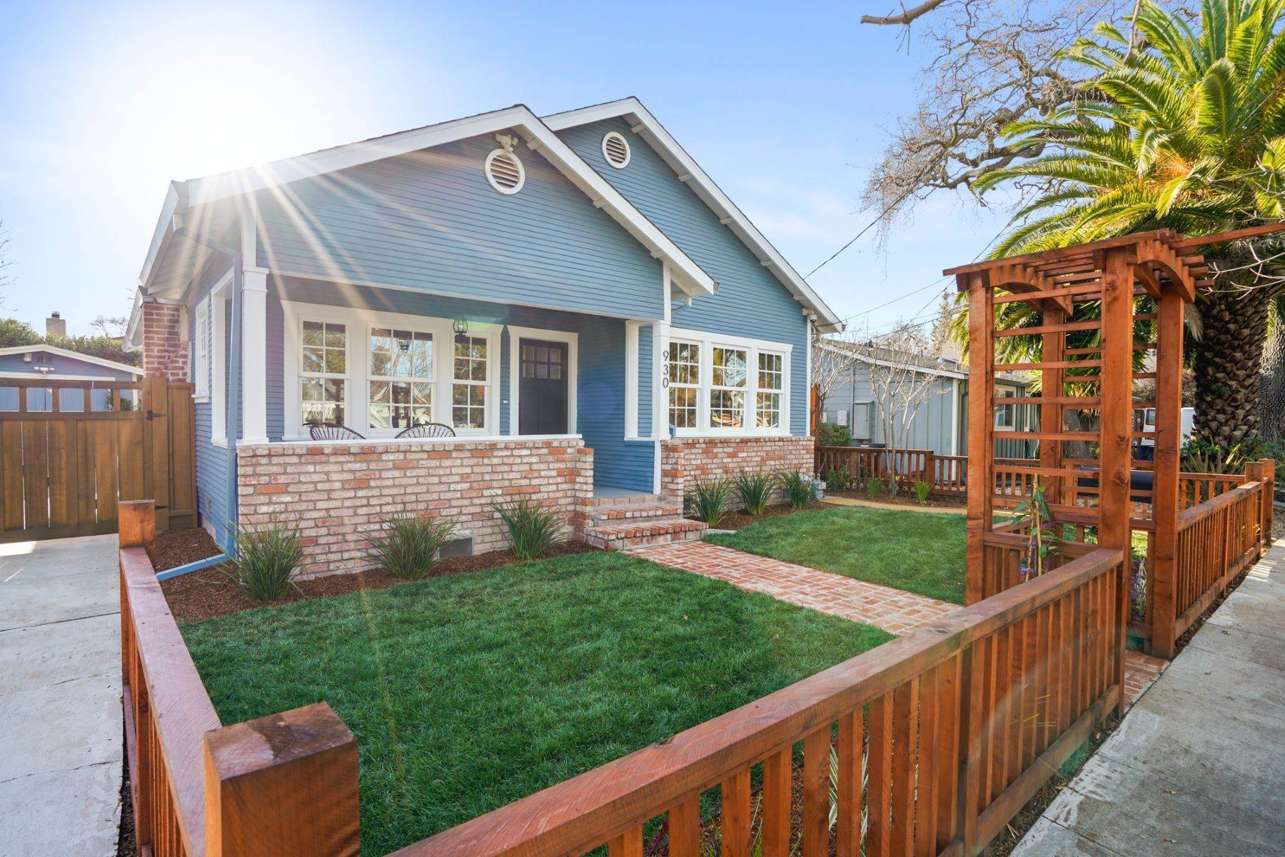 2. Single Family Homes for Sale at Turn-key Craftsman PLUS a Detached Bonus ADU 930 Fulton Street Redwood City, California 94061 United States