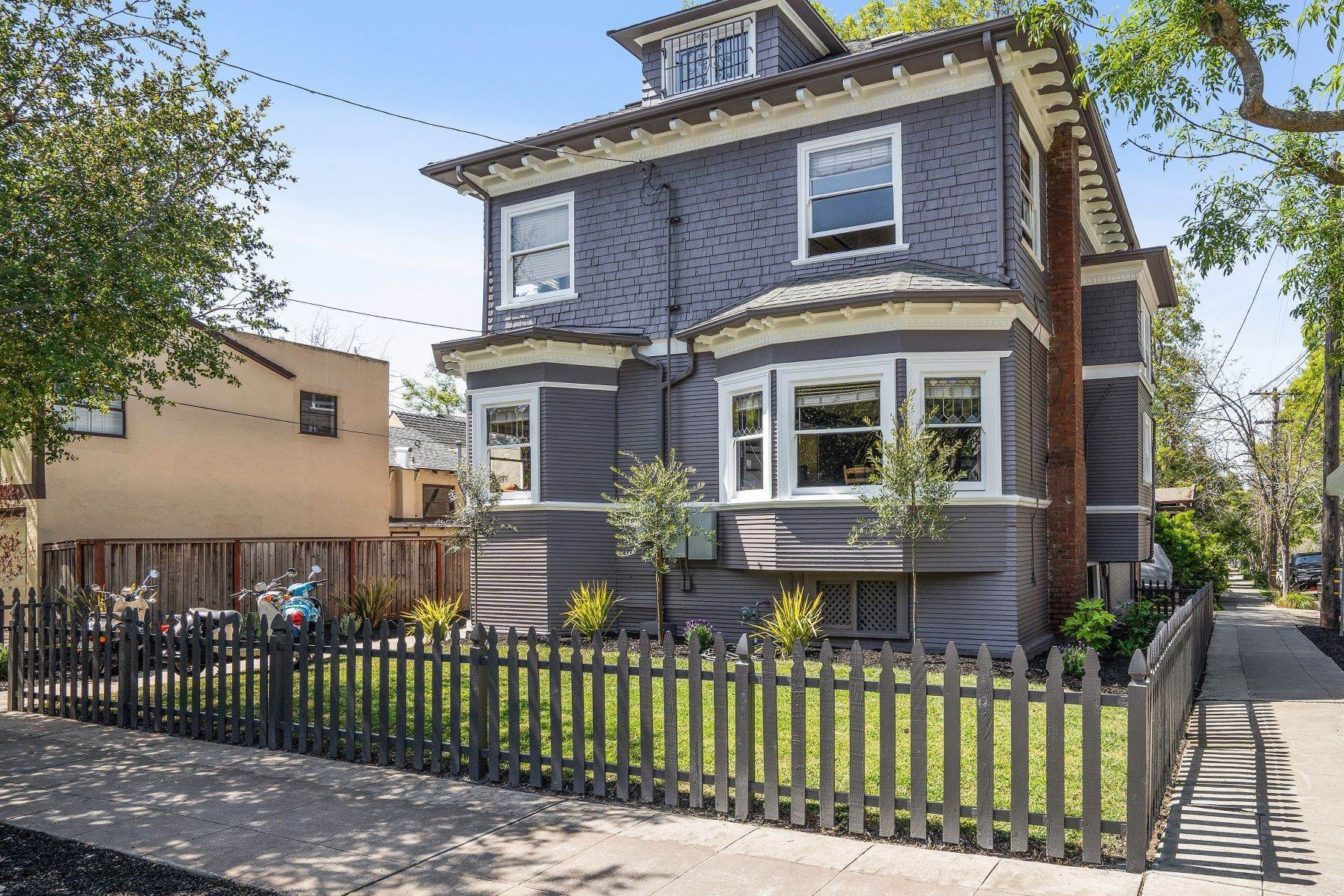 Single Family Homes for Sale at Grand Edwardian Home 2700 Dana Street Berkeley, California 94705 United States