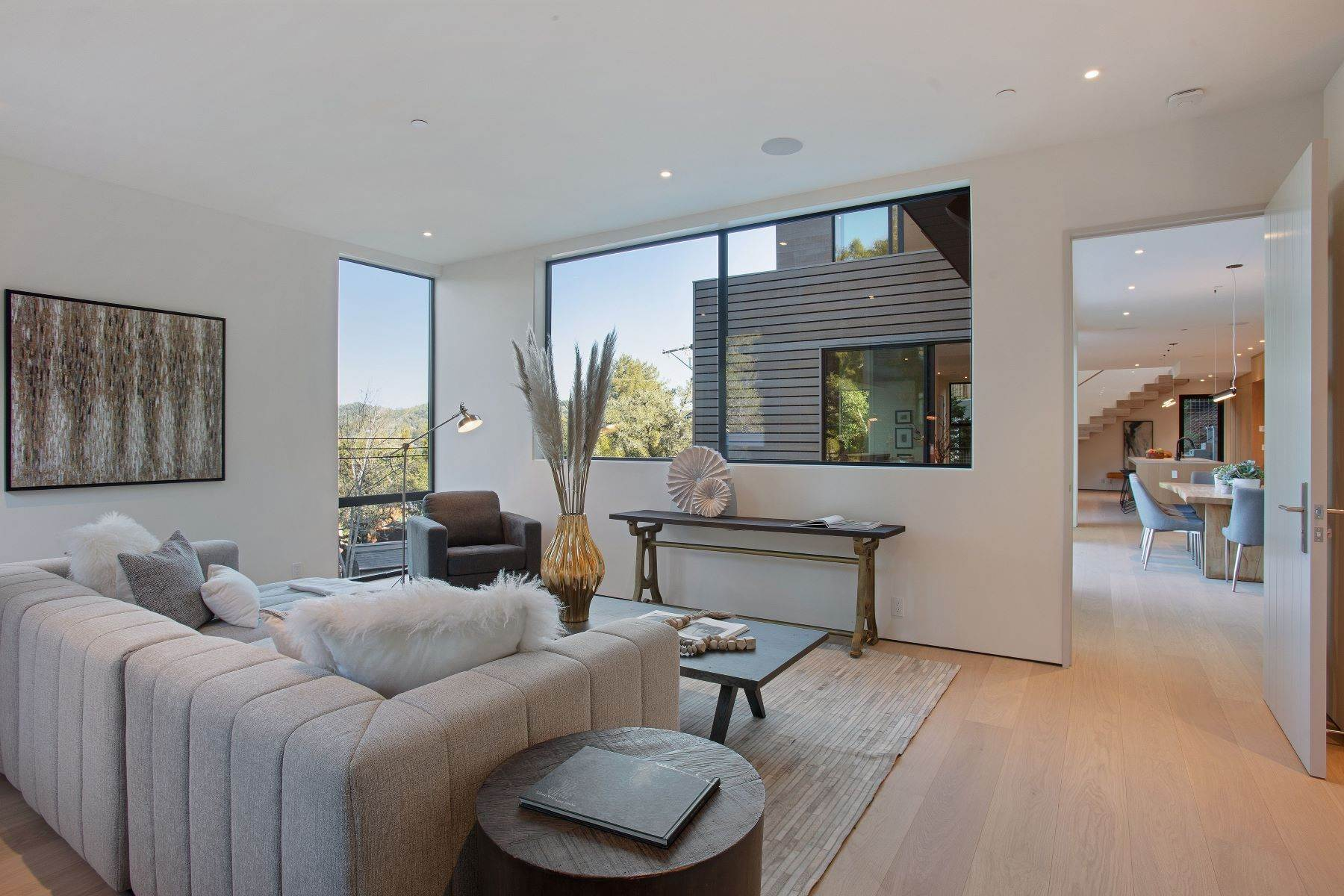 38. Single Family Homes for Sale at Modern Mill Valley New Construction 216 Ethel Avenue Mill Valley, California 94941 United States