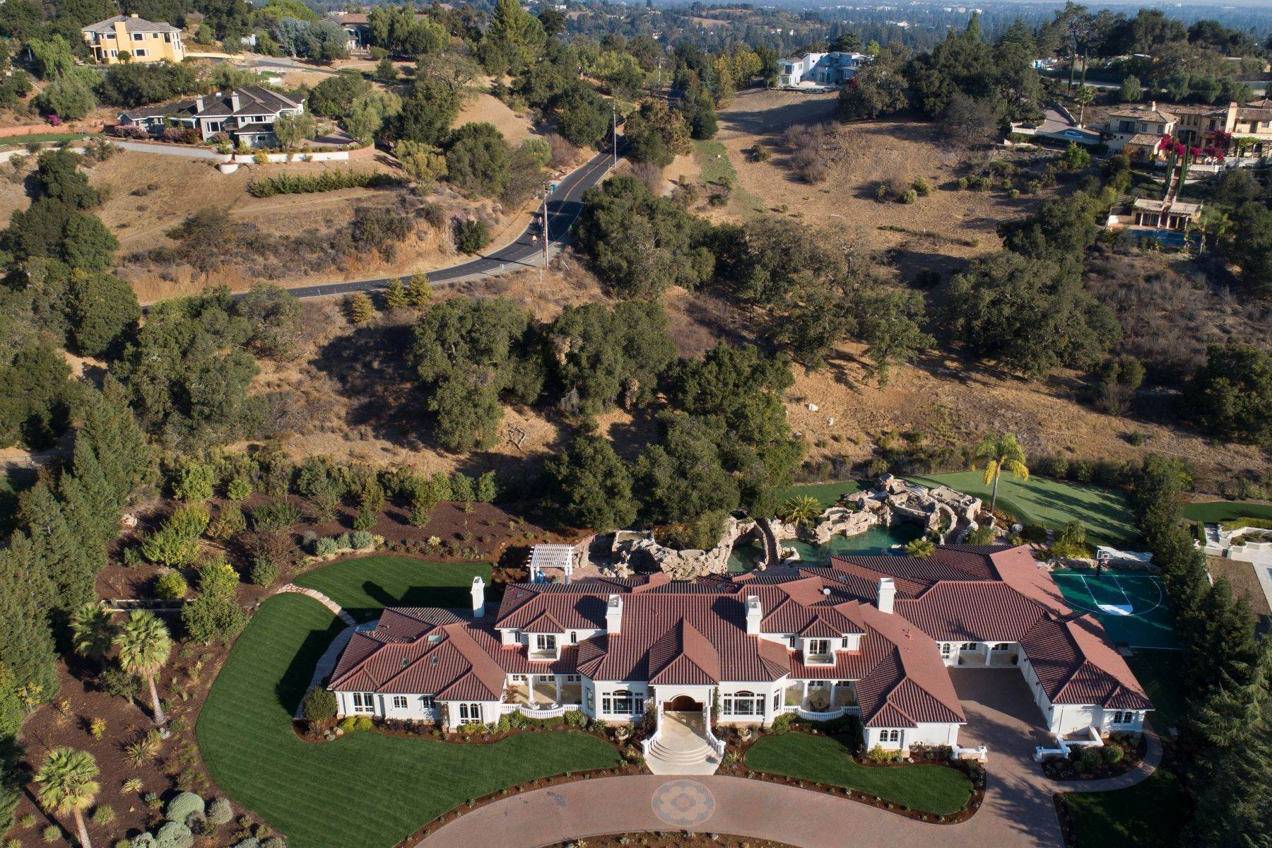 2. Single Family Homes for Sale at Sprawling Resort-Like Estate 12160 Kate Drive Los Altos Hills, California 94022 United States