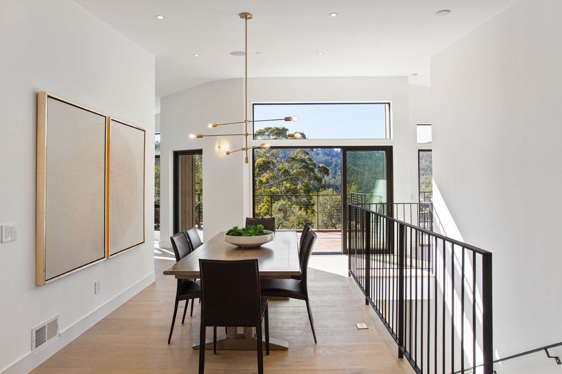 17. Single Family Homes for Sale at Modern New Construction in Mill Valley 315 Tamalpais Avenue Mill Valley, California 94941 United States