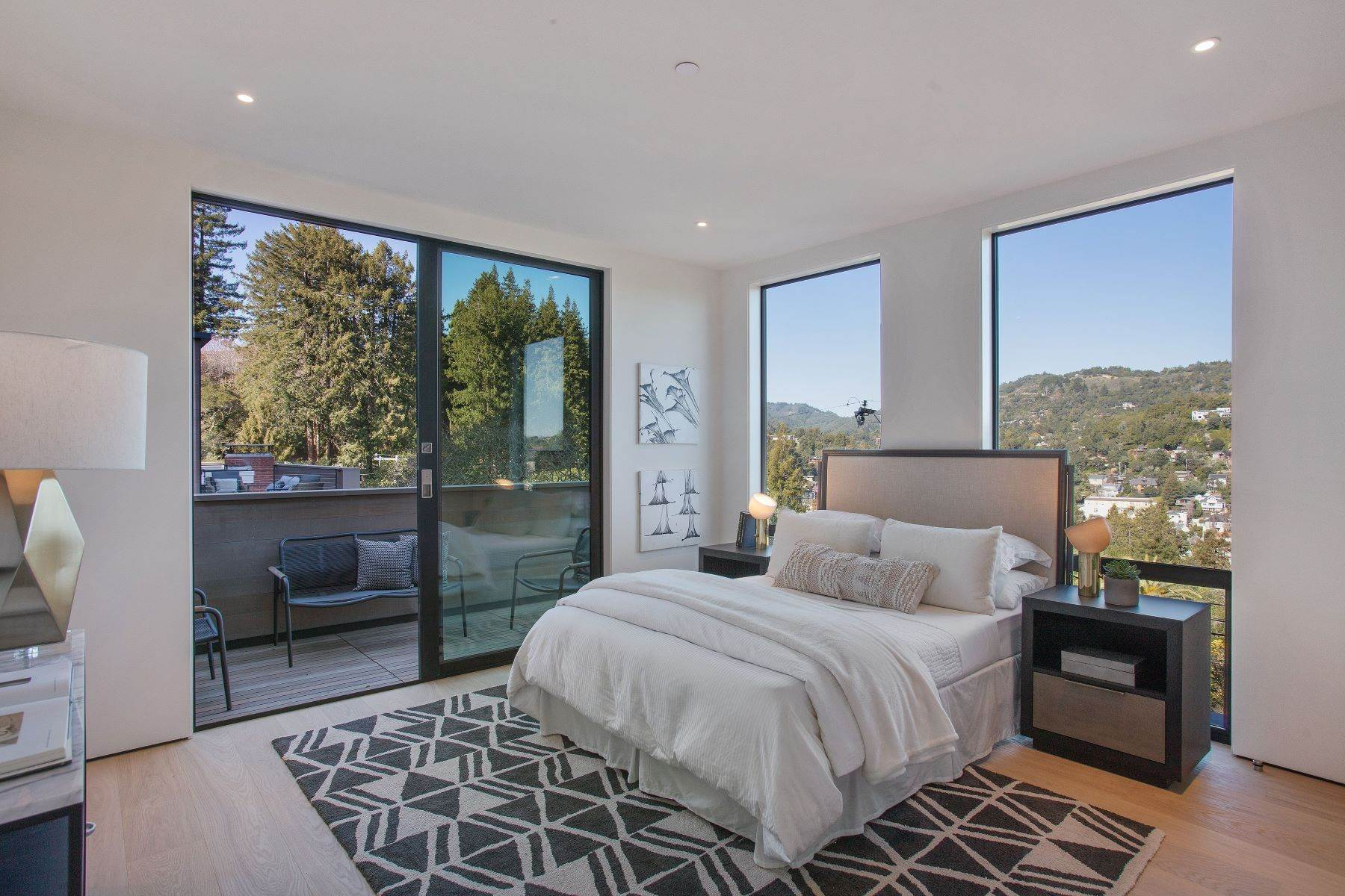 50. Single Family Homes for Sale at Modern Mill Valley New Construction 216 Ethel Avenue Mill Valley, California 94941 United States