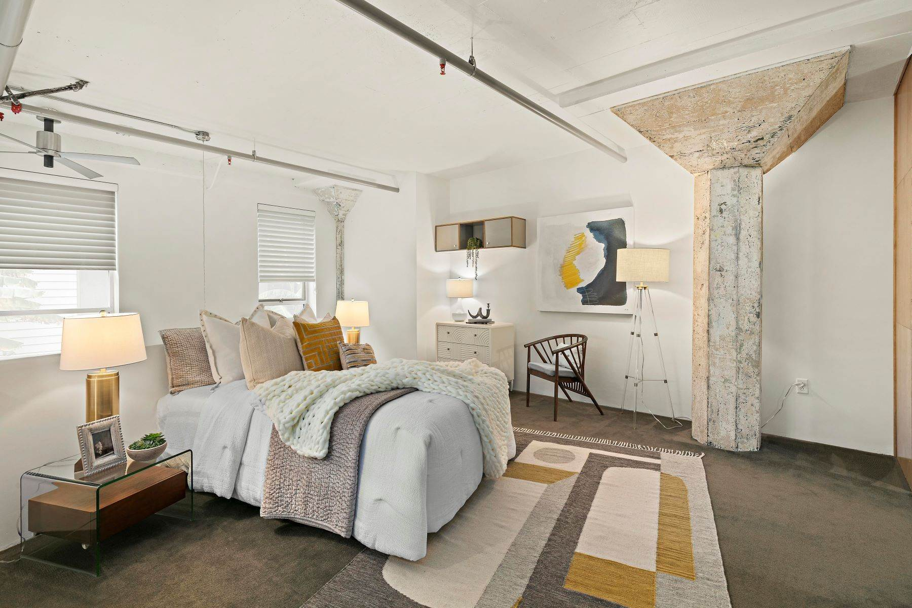 10. Condominiums for Sale at Beautifully Redesigned Rare Grove Loft 1225 Pine Street Oakland, California 94607 United States