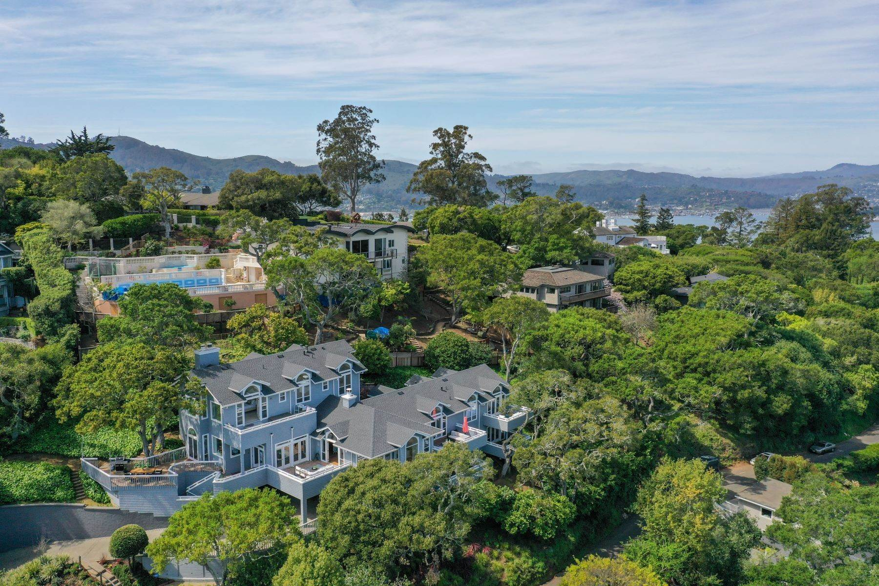 Property for Sale at Inviting Belvedere Home 75 Madrona Avenue Belvedere, California 94920 United States