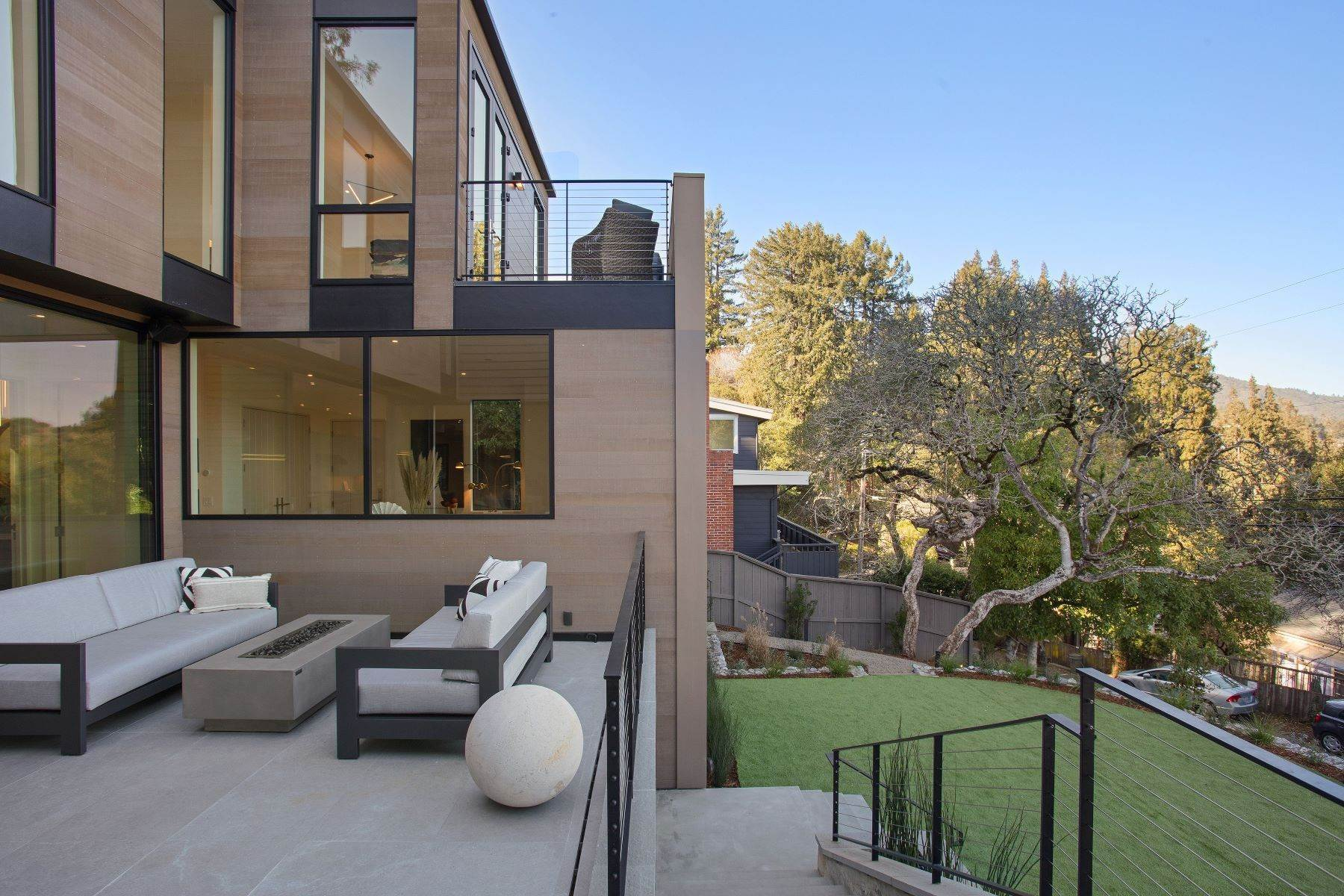 34. Single Family Homes for Sale at Modern Mill Valley New Construction 216 Ethel Avenue Mill Valley, California 94941 United States