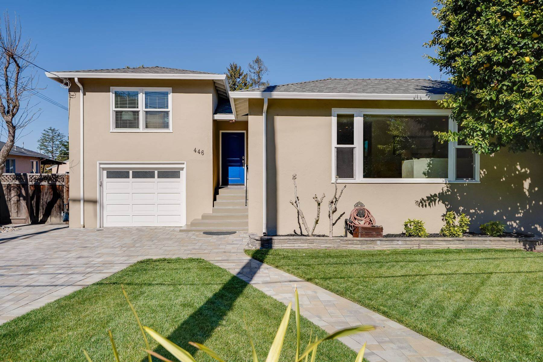Single Family Homes for Sale at Wonderfully Remodeled Split Level Home 446 East Oakwood Boulevard Redwood City, California 94061 United States