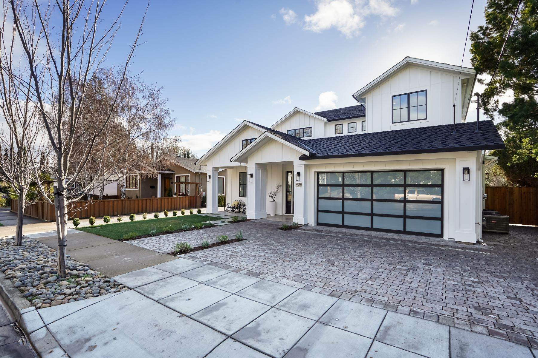 2. Single Family Homes for Sale at Modern Farmhouse in Coveted Mount Carmel 538 Quartz Street Redwood City, California 94062 United States