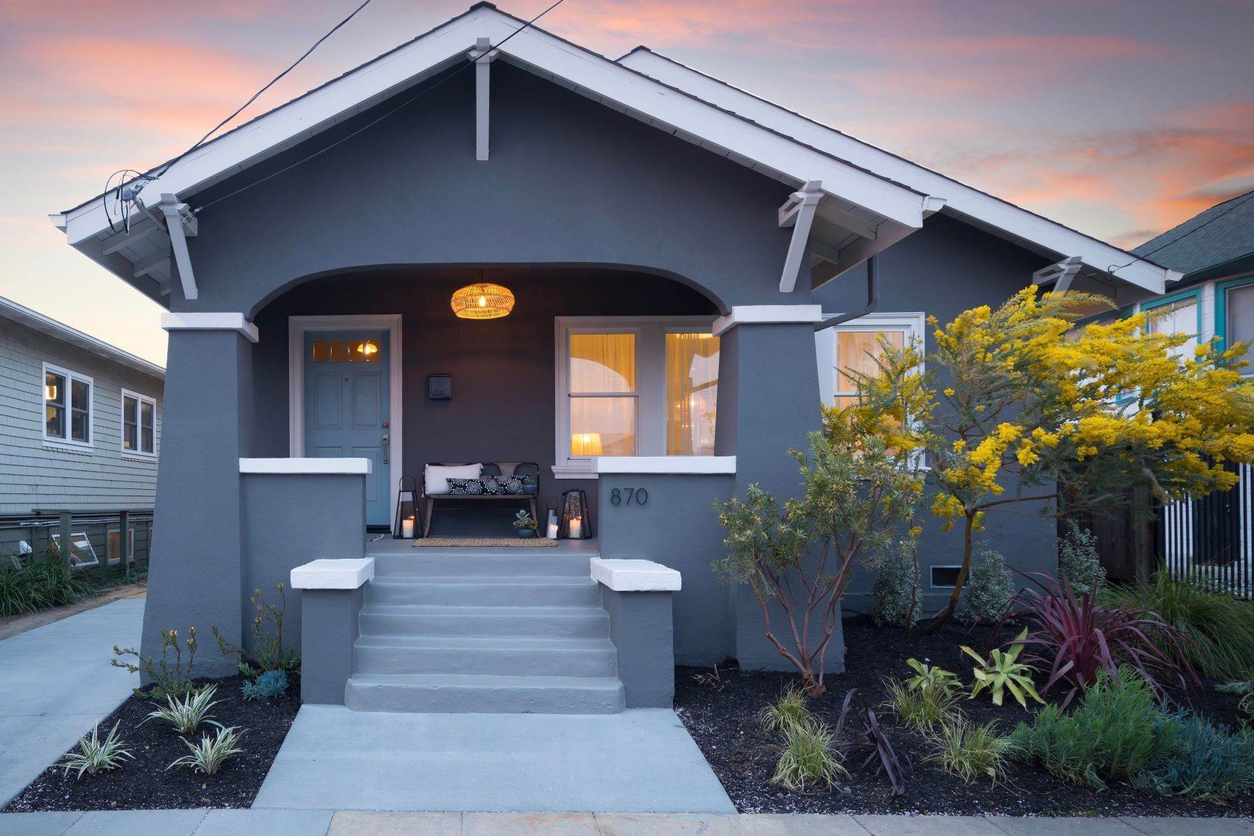Single Family Homes for Sale at Quintessential NOBE Bungalow 870 46th Street Oakland, California 94608 United States
