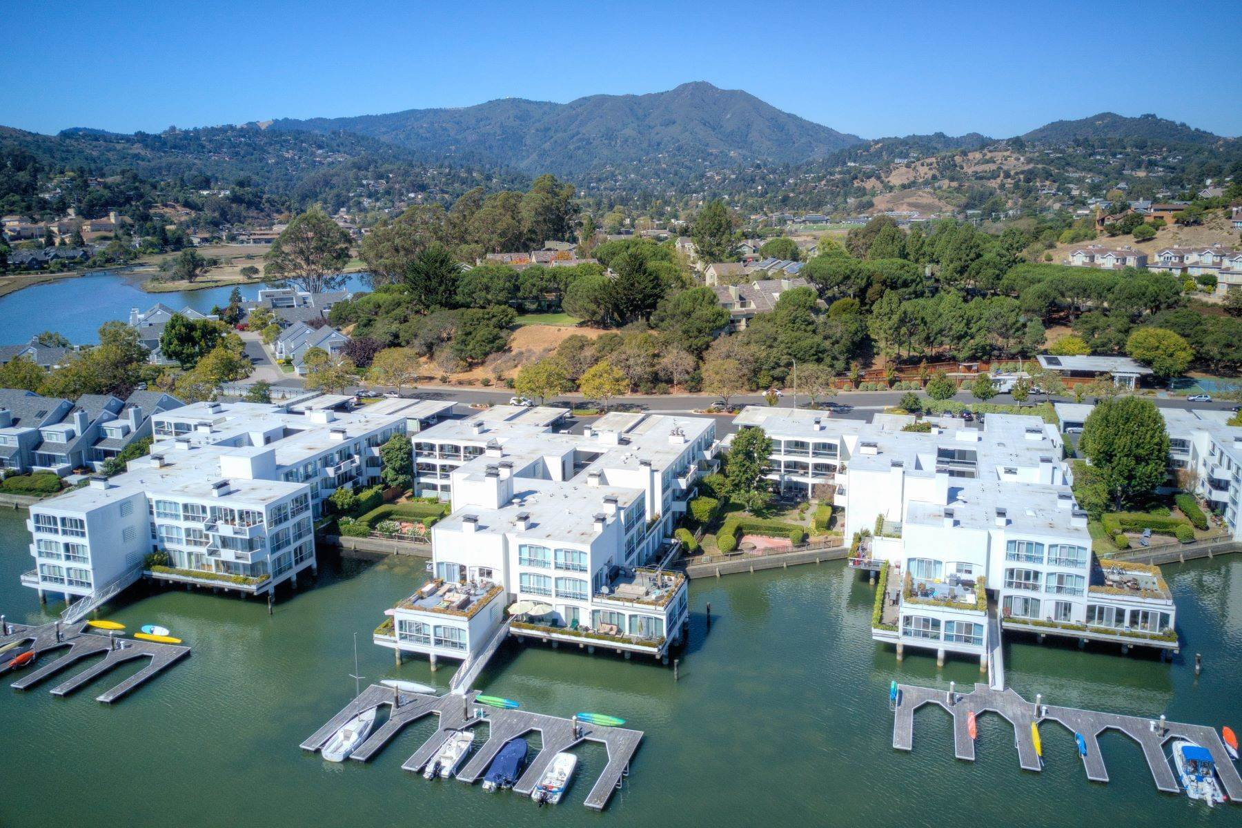 Condominiums for Sale at Shelter Bay Stunning Remodel, Private Yard, Spacious Deck Overlooking the Water! 5107 Shelter Bay Avenue Mill Valley, California 94941 United States