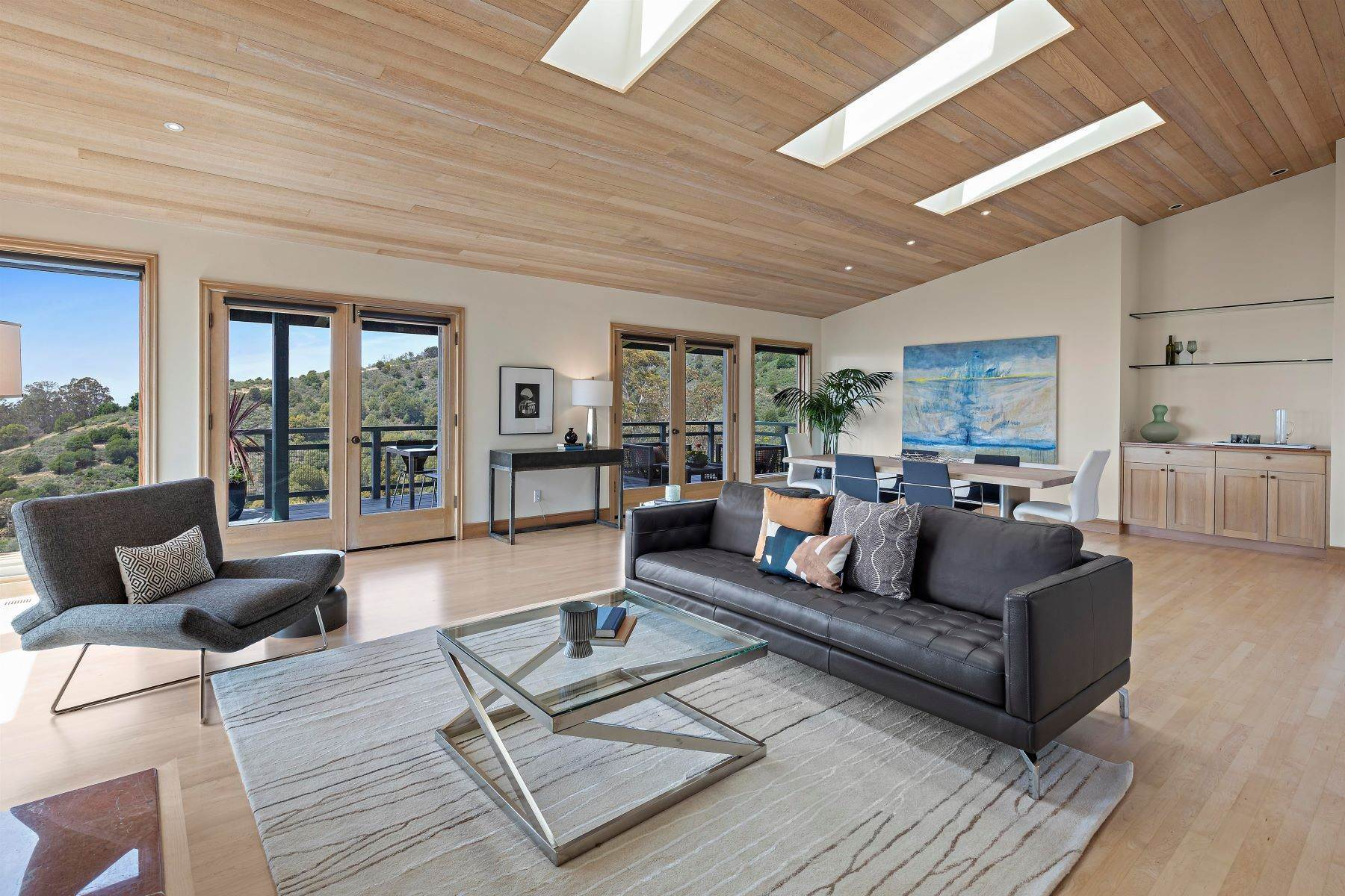 9. Single Family Homes for Sale at Architecturally Designed Home with Sweeping Bay Views 357 Gravatt Drive Berkeley, California 94705 United States