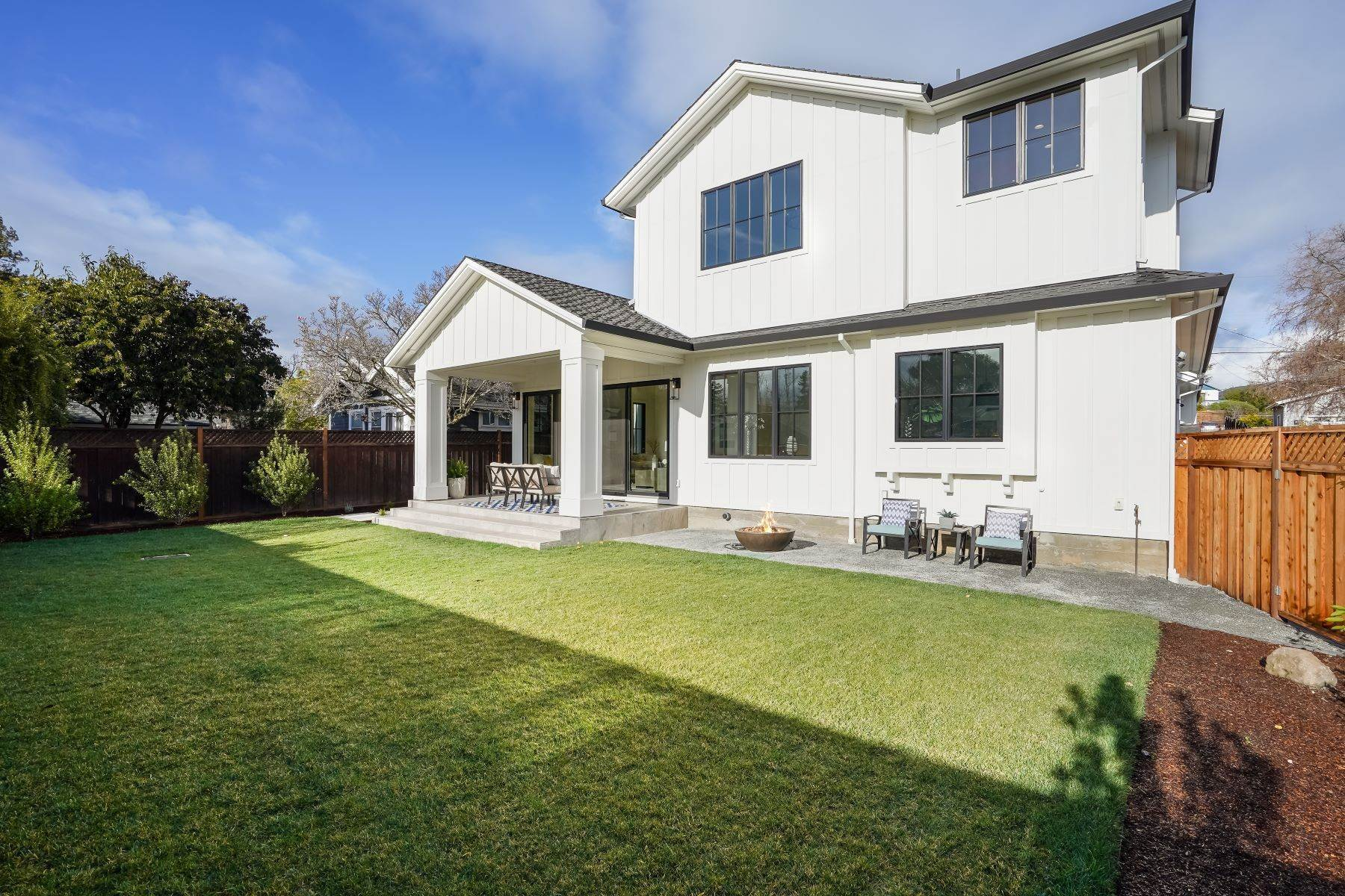 47. Single Family Homes for Sale at Modern Farmhouse in Coveted Mount Carmel 538 Quartz Street Redwood City, California 94062 United States