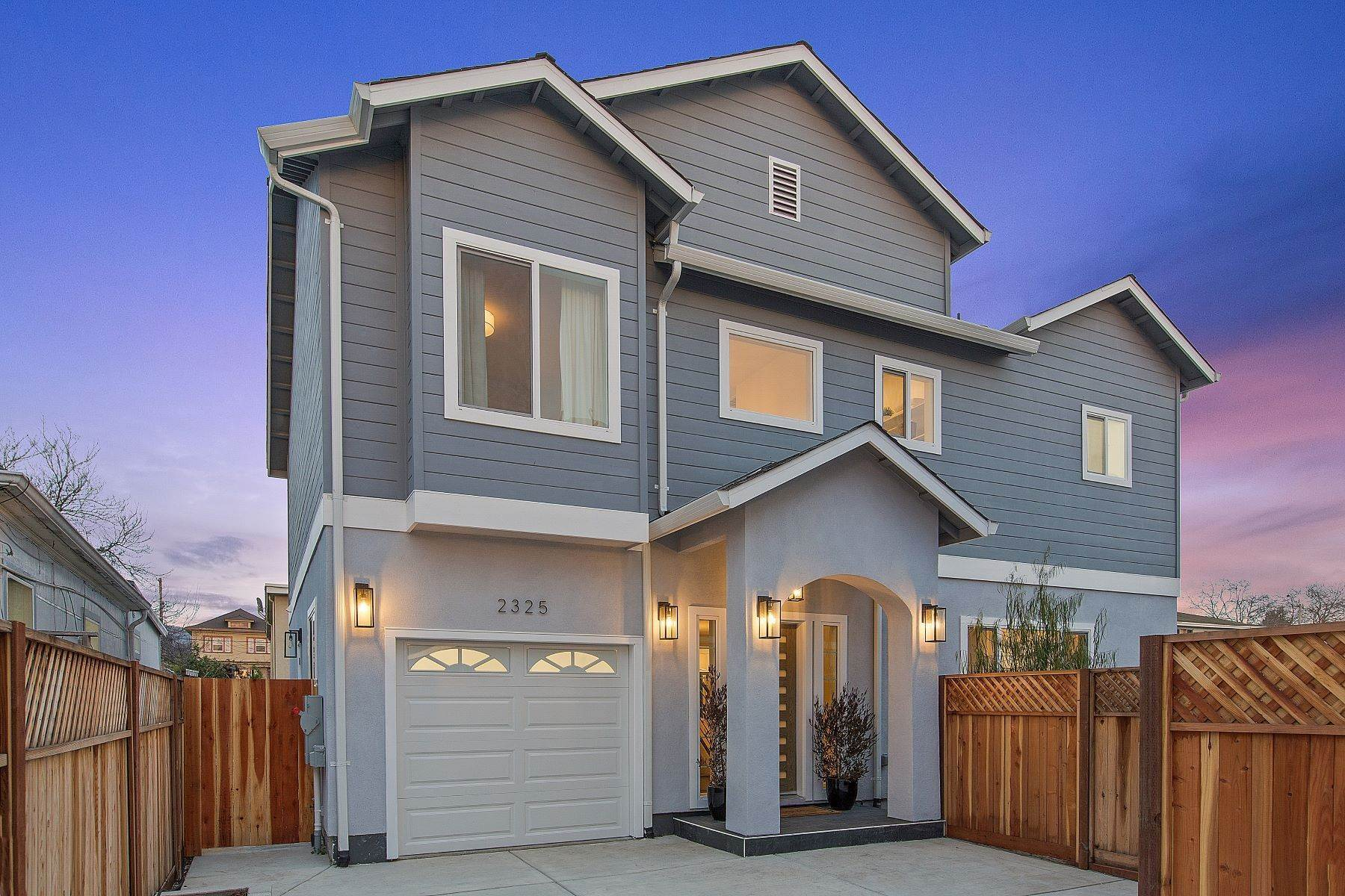Single Family Homes for Sale at Exceptional Southwest Berkeley New Construction Home 2325 8th Street Berkeley, California 94710 United States