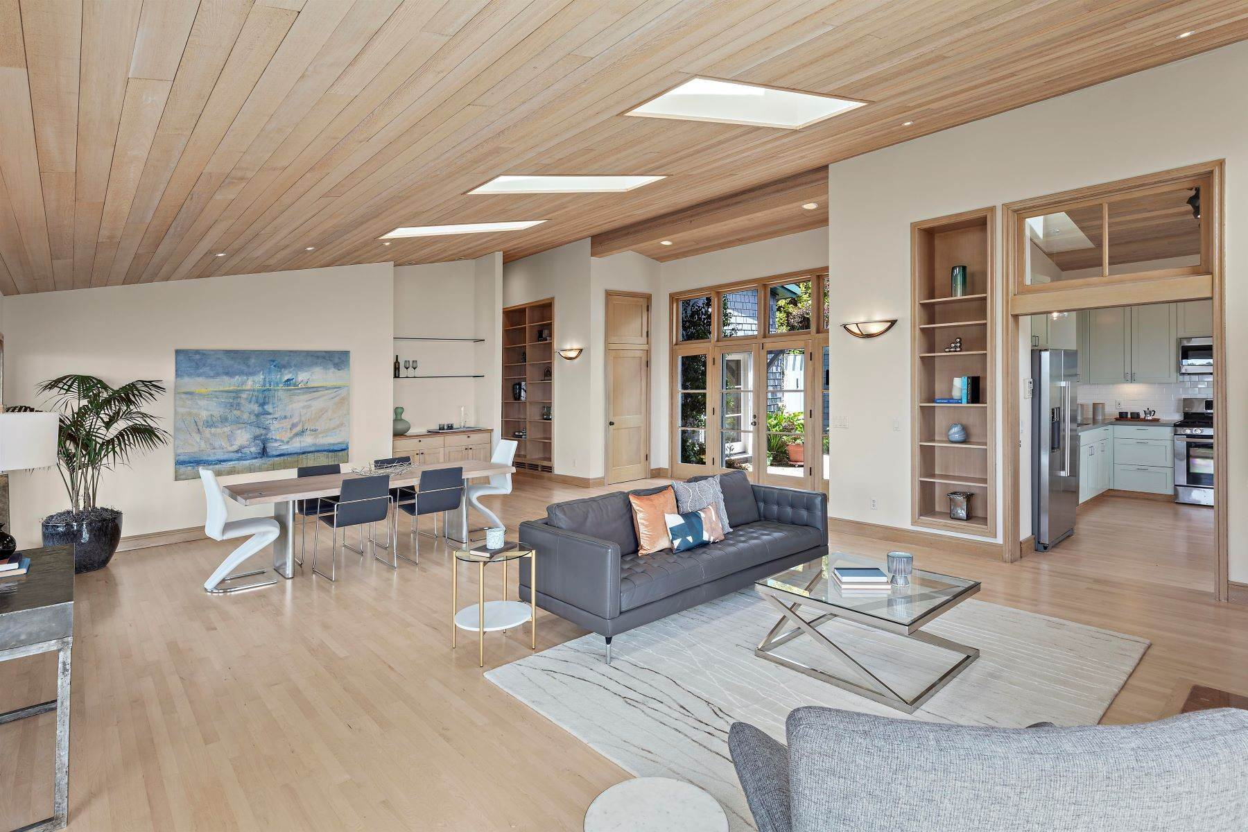 11. Single Family Homes for Sale at Architecturally Designed Home with Sweeping Bay Views 357 Gravatt Drive Berkeley, California 94705 United States