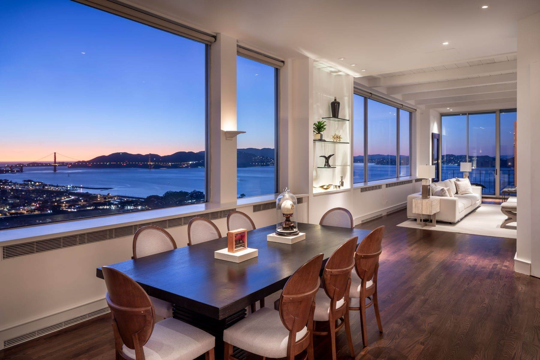 Co-op Properties for Sale at Russian Hill Penthouse 1080 Chestnut St Ph San Francisco, California 94109 United States