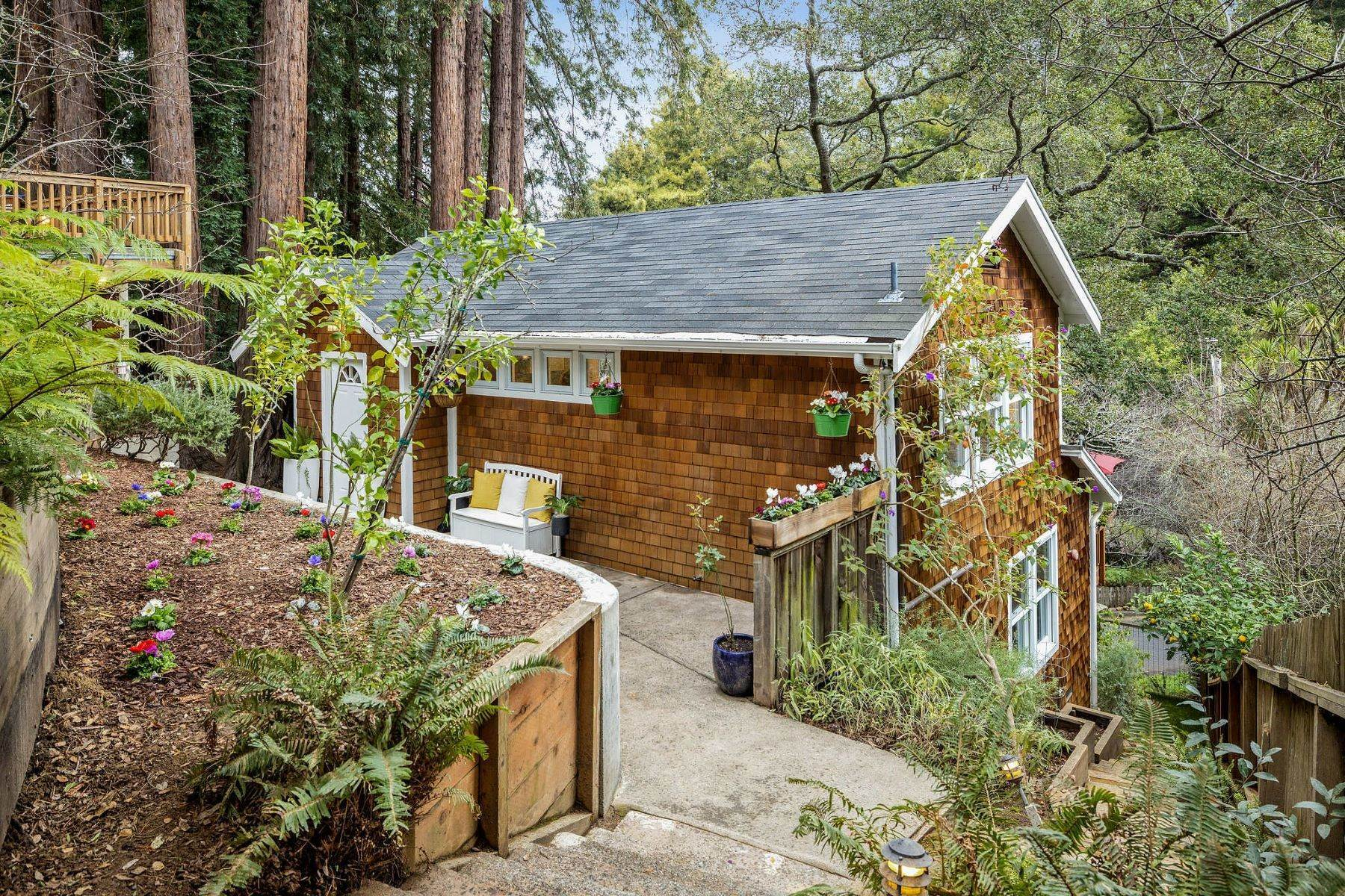 Single Family Homes for Sale at Mill Valley Charmer 18 Hazel Ave Mill Valley, California 94941 United States