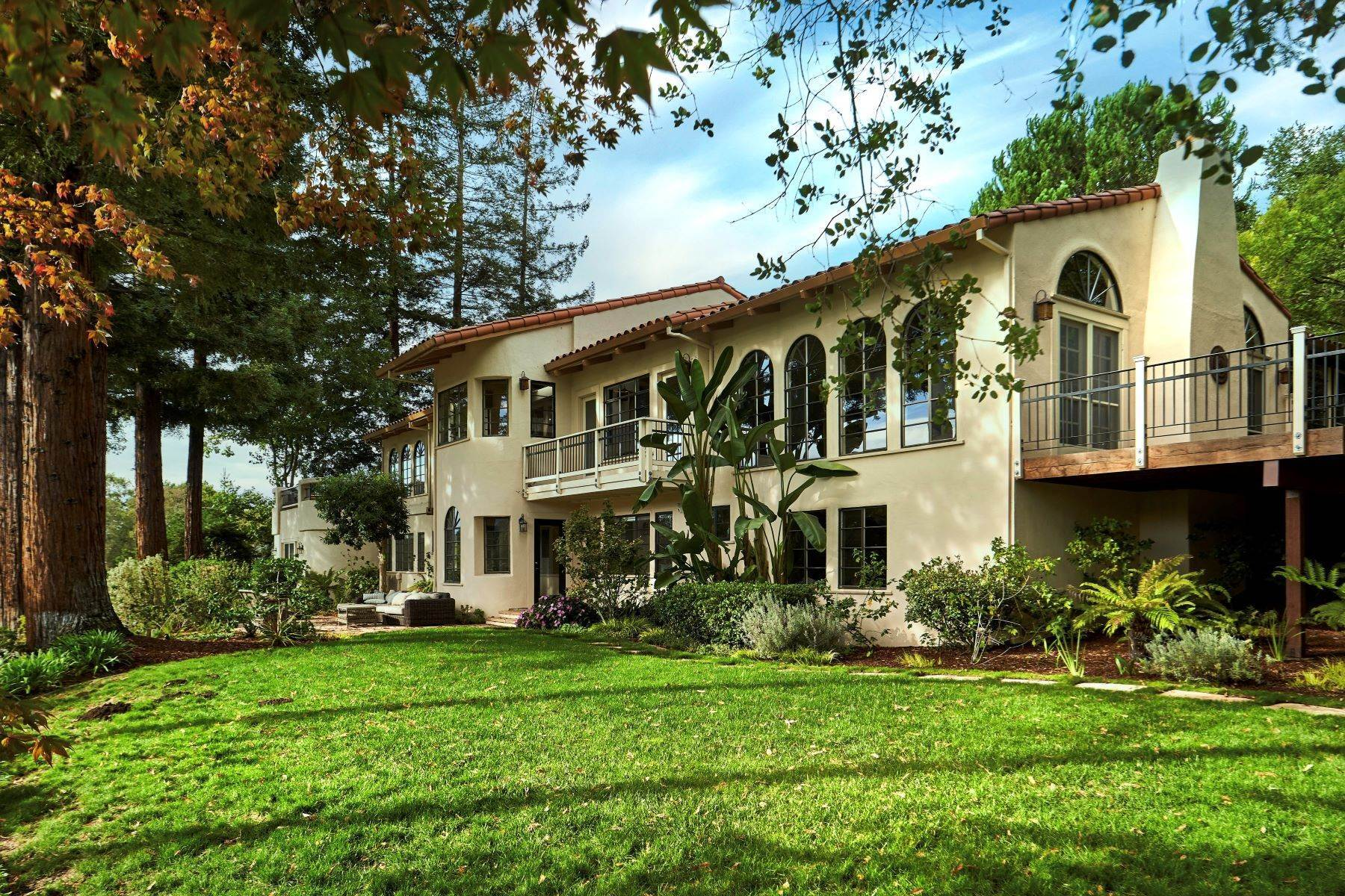 Single Family Homes for Sale at Palo Alto Extraordinary 4184 Old Adobe Rd Palo Alto, California 94306 United States