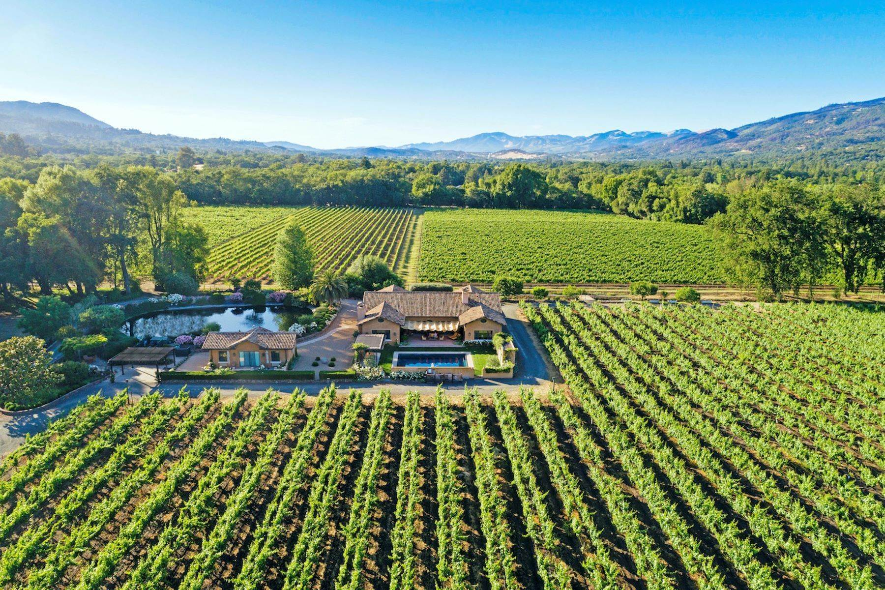 Single Family Homes for Sale at Frogmore Vineyard Estate 938 Country Club Ln Sonoma, California 95476 United States