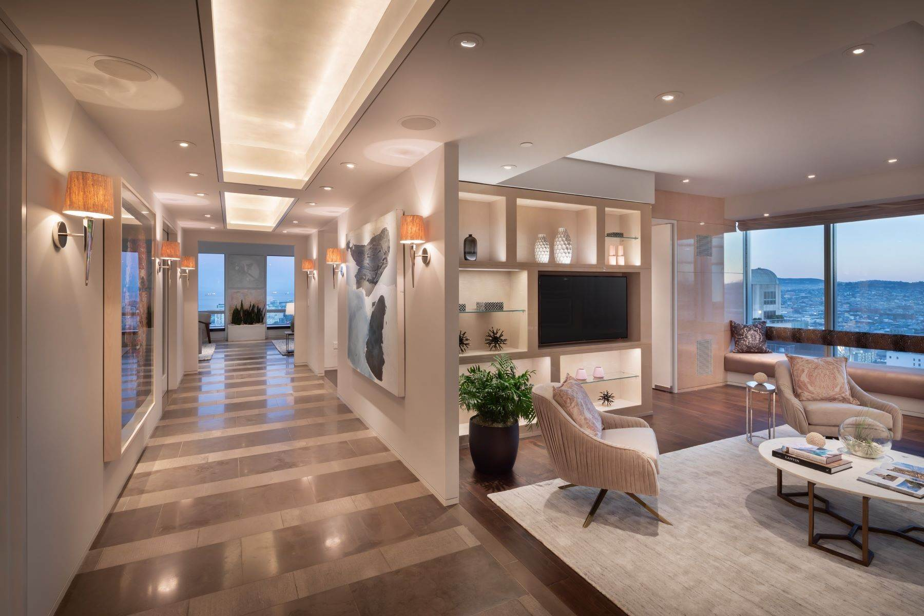Condominiums for Sale at 4,550 SqFt Four Seasons Residence 34A 765 Market St, Apt 34A San Francisco, California 94103 United States