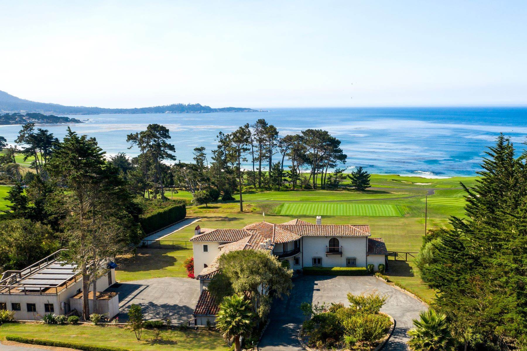 Single Family Homes for Sale at Robert Hunter's Fairview 3406 17 Mile Drive Pebble Beach, California 93953 United States