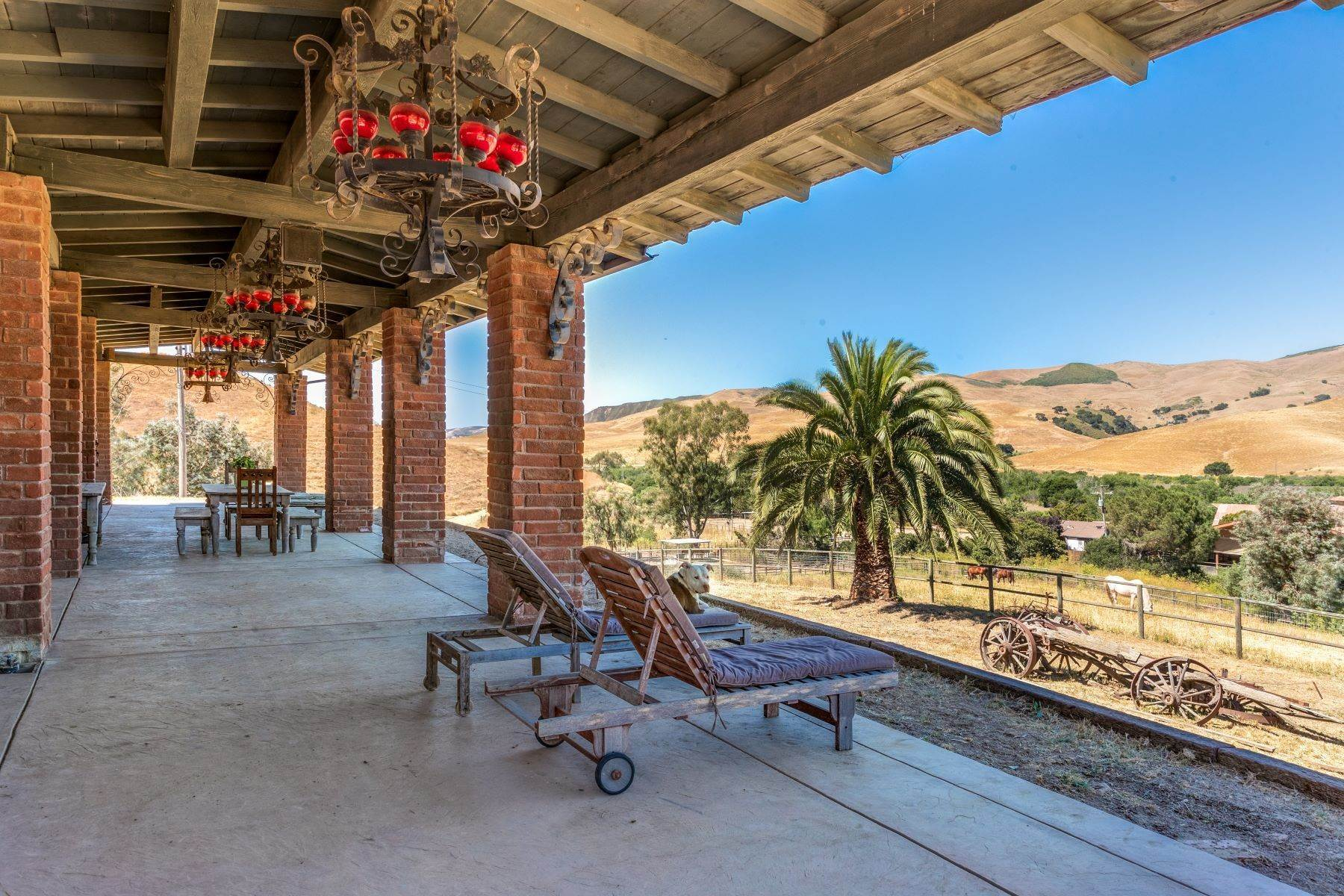 Vineyard Real Estate for Sale at One of a Kind Legacy Horse Ranch 4115 Jalama Road Lompoc, California 93436 United States