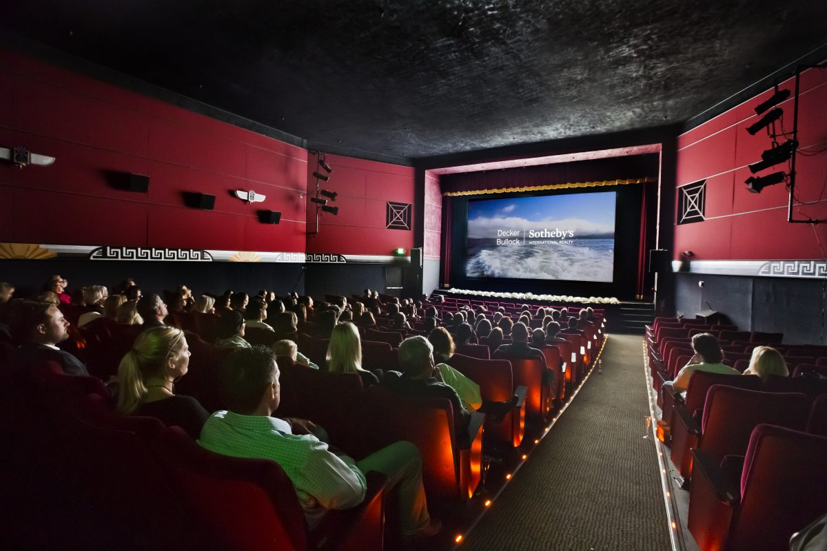 Glitz, Glam and Popcorn, Too: Real Estate's First Film Premiere