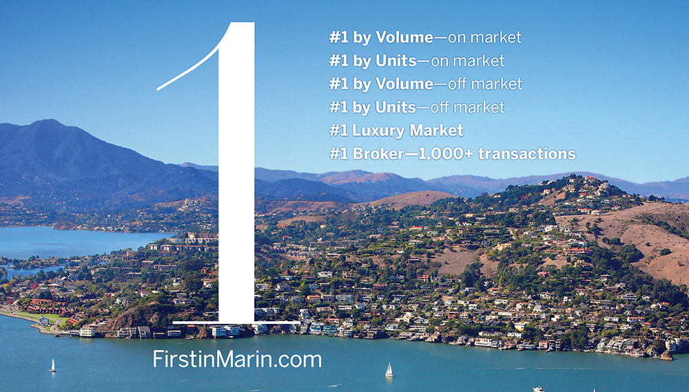 Number One in Marin County Real Estate